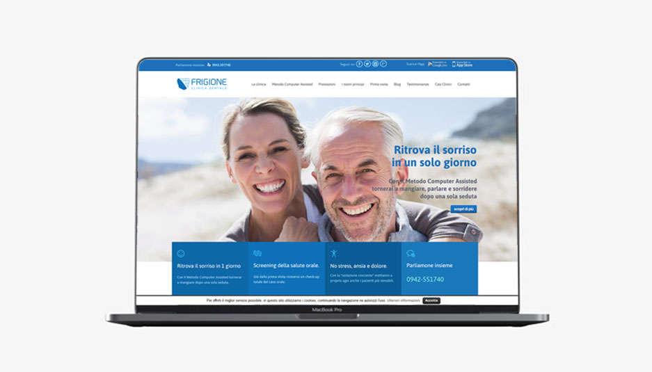 siti web per medici Catania - Reattiva - Frigione